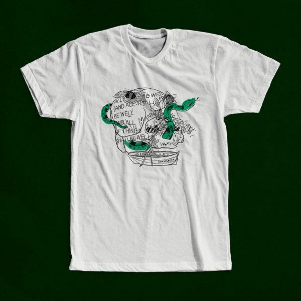 ZWARTGROEN Skull shirt